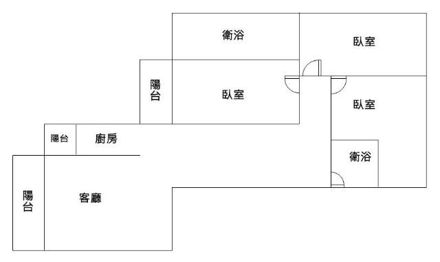 南科首選3面採光3房平車,台南市永康區龍安街