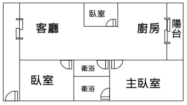 東區明亮三房平車,台南市東區東門路三段